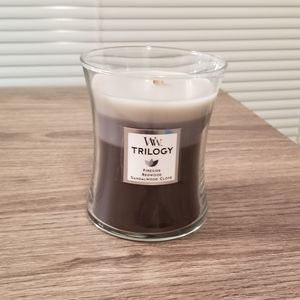 New Trilogy WoodWick Candle
